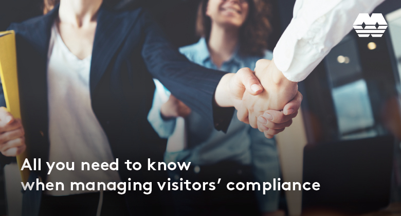 Managing visitors' compliance