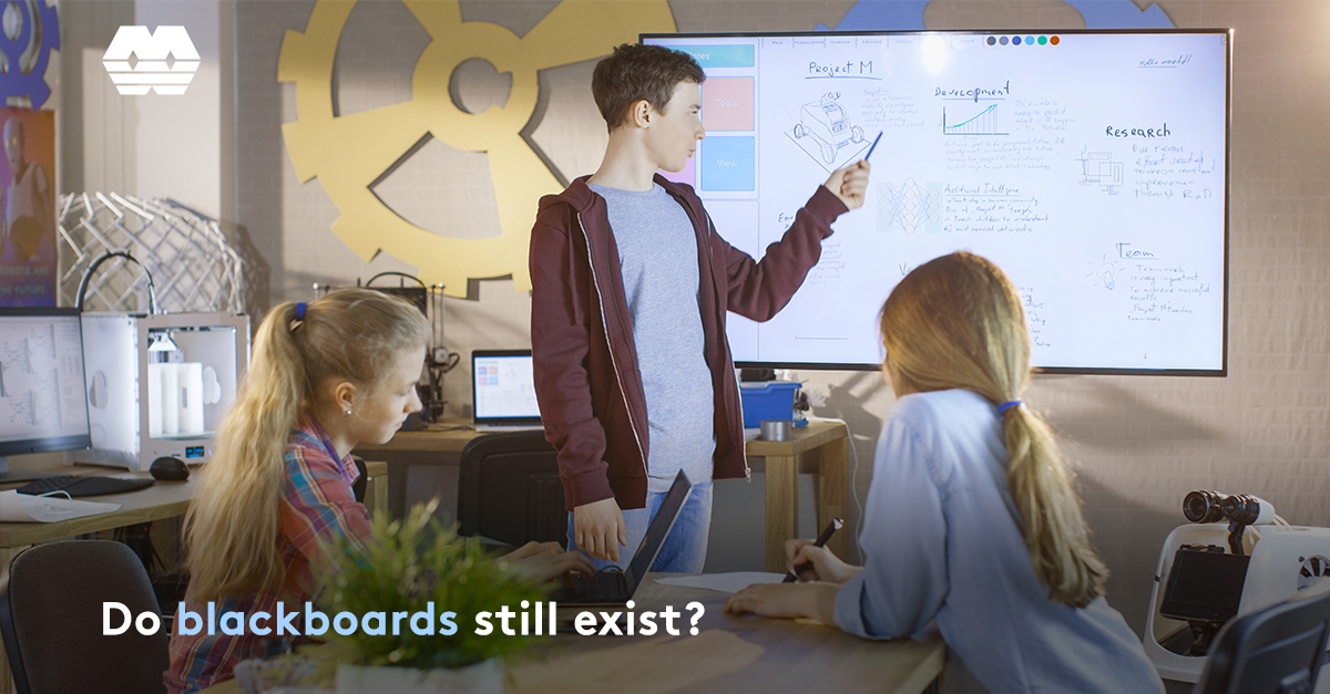 The changing face of the classroom: Do blackboards still exist?