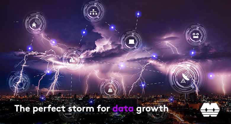 The perfect storm for data growth